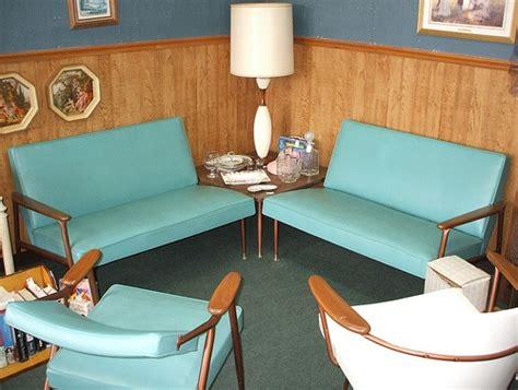 Aqua Living Room Furniture : 63 Best Classic 50s Living Spaces Images On Pinterest