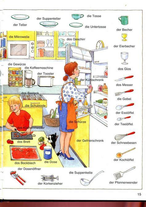 Vliestapete Für Die Küche by Die K 252 Che Wortschatz Hablar Aleman Alem 225 N Y
