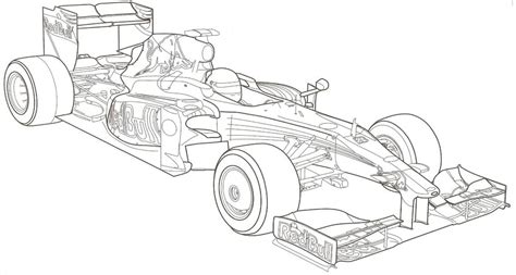 disegni da colorare auto da corsa