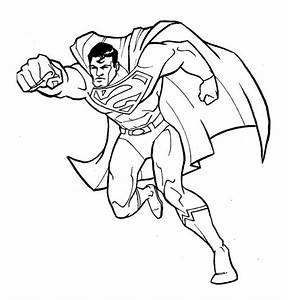 Fantastic Superman Coloring Page | Superman | Pinterest ...