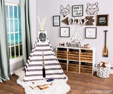 Boys Playroom Decor And