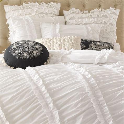 ruffled comforter set ruffle bedding
