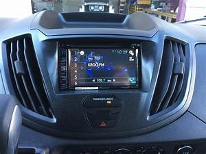 Custom Fabricated Dash Kit For A Pioneer Double Din Radio