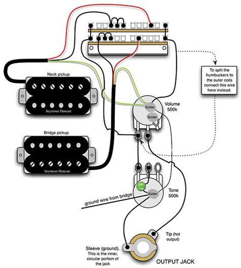 Mod Garage Flexible Dual Humbucker Wiring Scheme