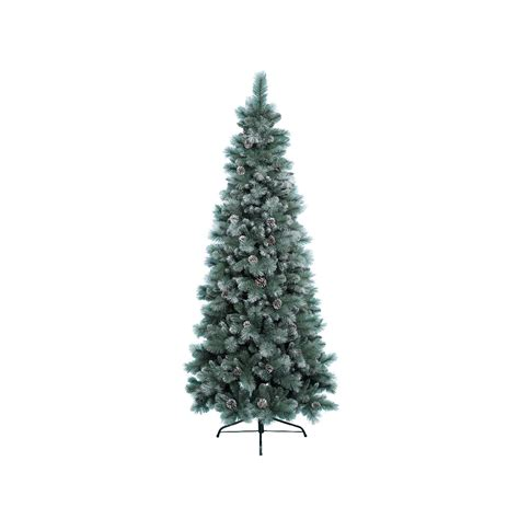 6ft Christmas Tree by Kaemingk Everlands Frosted Norwich Pine 6ft 1 8m