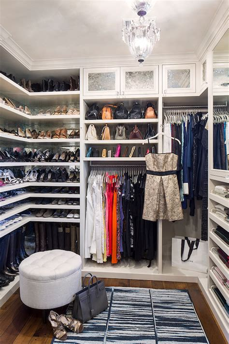 la closet design built in shoe shelves transitional closet la closet