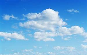 Fluffy cloud texture from a perfect cloudy blue sky | www ...