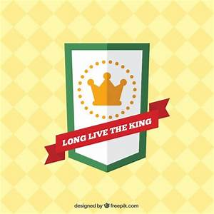 King badge Vector | Free Download