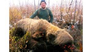 Record Grizzly Bear Killed in Alaska
