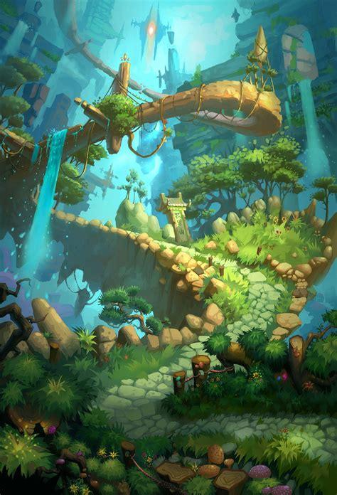 artstation   tans fantasy   environment