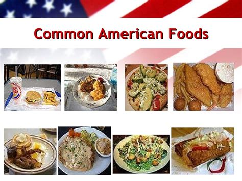 usa cuisine united states of america ppt