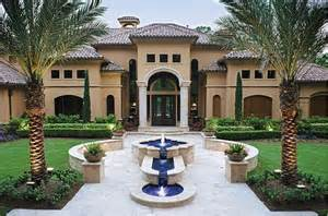 mediterranean style houses 5 dramatic outdoor fountains luxury pools