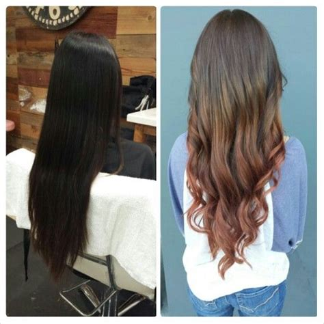 rose gold ombre hair color ideas hairstylo