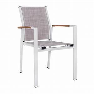 Sessel Weiß Grau : sessel aluminium wei textilene grau polywood armlehnen ~ Frokenaadalensverden.com Haus und Dekorationen