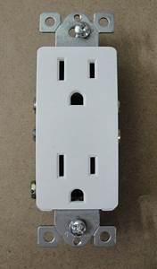Decorative Decora 15 Amp White Duplex Outlet Plug Receptacle 18