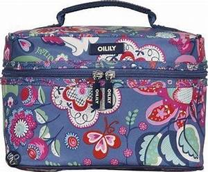 Oilily Beauty Case : oilily winter blossom square beauty case denim ~ Orissabook.com Haus und Dekorationen