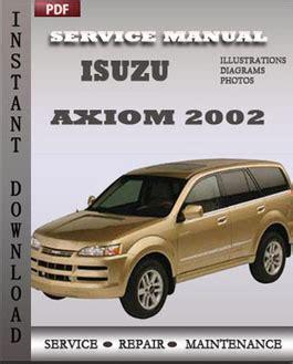 download car manuals 2003 isuzu axiom regenerative braking isuzu axiom 2002 service manual pdf download servicerepairmanualdownload com