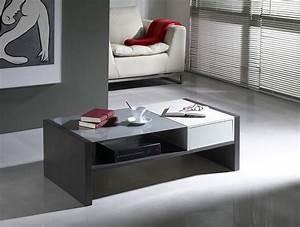 Table Basse Blanche Et Grise : table basse contemporaine kassy zd1 tbas c ~ Teatrodelosmanantiales.com Idées de Décoration
