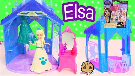 Disney Frozen Queen Elsa Magiclip Doll Flip N Switch