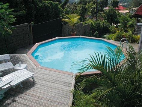 piscine hors sol bois composite de zodiac waterman la gamme azteck