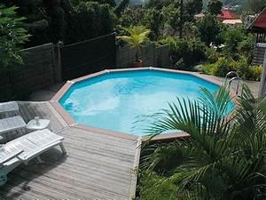Piscine Bois Ronde : piscine hors sol bois composite de zodiac waterman la gamme azteck ~ Farleysfitness.com Idées de Décoration