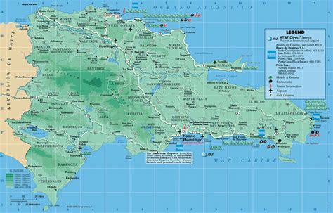maps  dominican republic