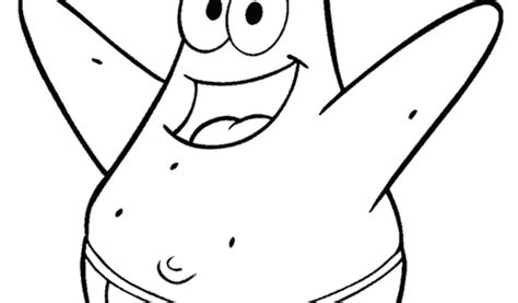 Spongebob And Patrick Coloring Pages