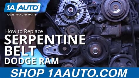2008 5 7l Hemi Engine Diagram by How To Install Replace Serpentine Belt 2008 Dodge Ram 5 7l