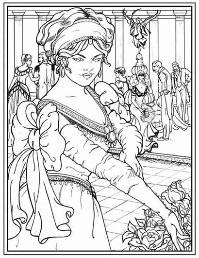 Coloring Pages Haven Creative Dover Books Publications