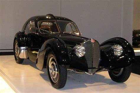 Type 57s were built from 1934 through 1940, with a total of 710 examples produced. File:RL 1938 Bugatti 57SC Atlantic 34 2.jpg - Wikimedia Commons