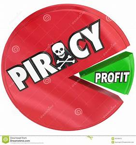Piracy Pie Chart Eating Profits Illegal Copyright Theft ...