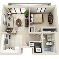 one bedroom house floor plans 3d floor plan image 2 for the 1 bedroom studio floor plan of property viewpointe small house