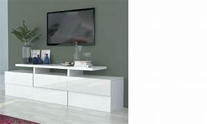 meuble tv design laque blanc 28 images ophrey deco With meuble tv design blanc laque cavalli