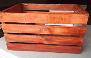 How to Stain Wooden Crates for Easy DIY Home Storage