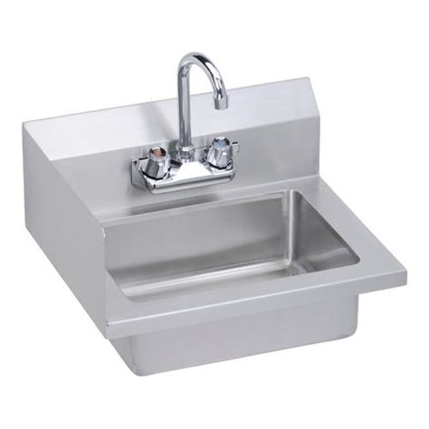 commercial hand sink splash guard elkay ehs 18 s lx 18 x 14 1 2 in hand sink etundra