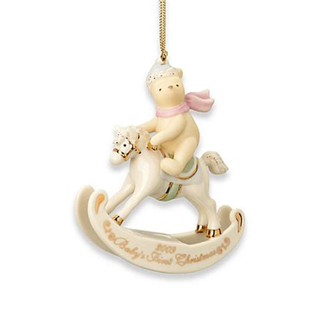 lenox 174 2009 winnie the pooh baby s first christmas