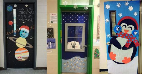 creative classroom door ideas  winter teachervision