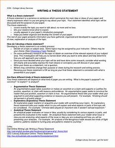 7  Thesis Statement Examples For Essays
