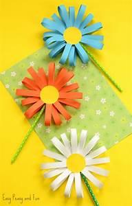 Simple-paper-flower-craft