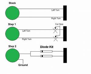 Inline Diode Kit For Custom Motorcycles