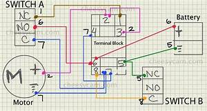 Polarity Reversing Switch Wiring Diagram