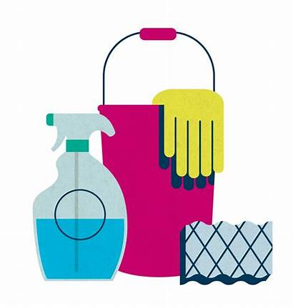 Cleaning Supplies Clipart Clean Background Janitorial Supply