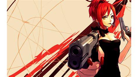 Animated Gun Wallpaper - 76 anime gun wallpapers on wallpaperplay