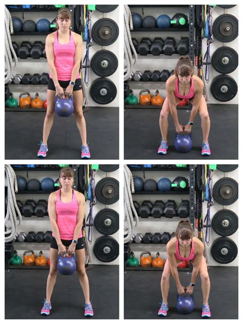 deadlift properly kettlebell squat right conventional redefining strength