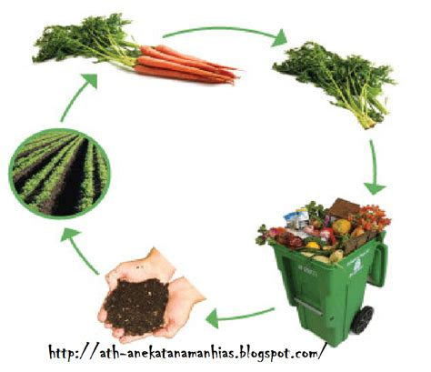 pembuatan pupuk kompos  sampah rumah tangga