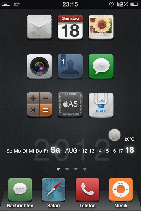 how to take a screenshot on iphone 5 iphone 4s homescreen screenshot ios 5 1 1 by fbang1991 on