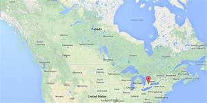 Where Is Kitchener On Map Of Canada