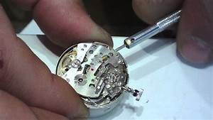 Seiko Cal 6139 Chronograph-disassembly