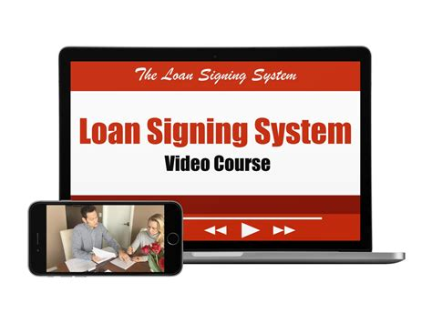Loan Signing Agent Video Training Course