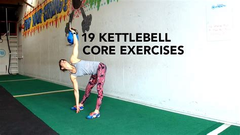 kettlebell core exercises workout